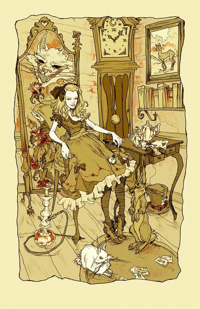 Abigail Larson - Clever Little Alice