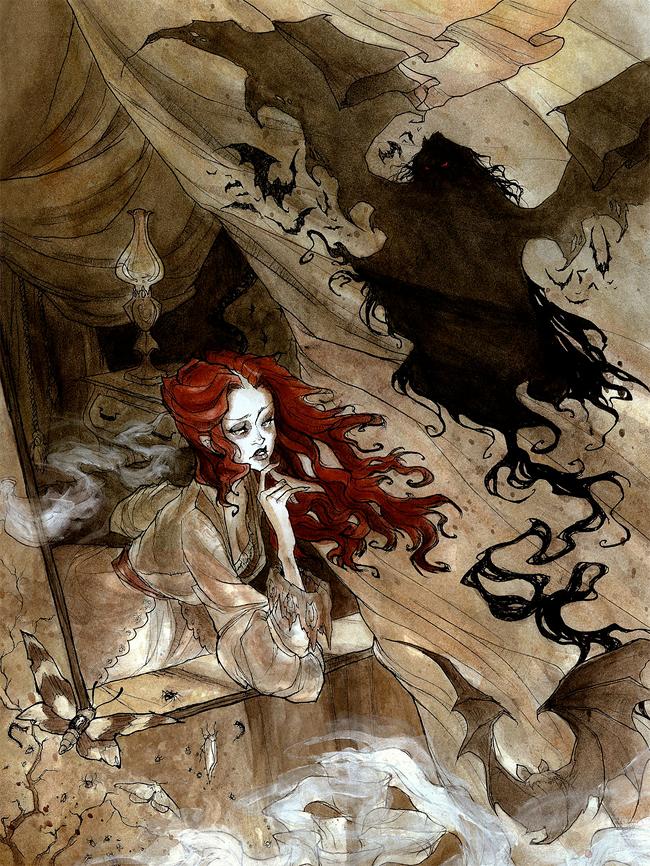Abigail Larson - Dracula Calls