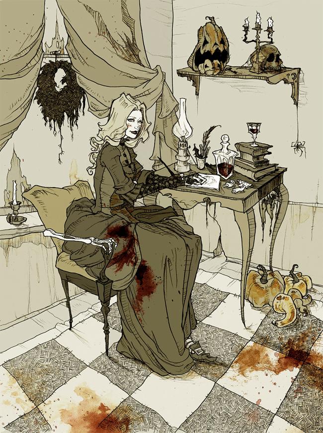 Abigail Larson - Halloween Queen