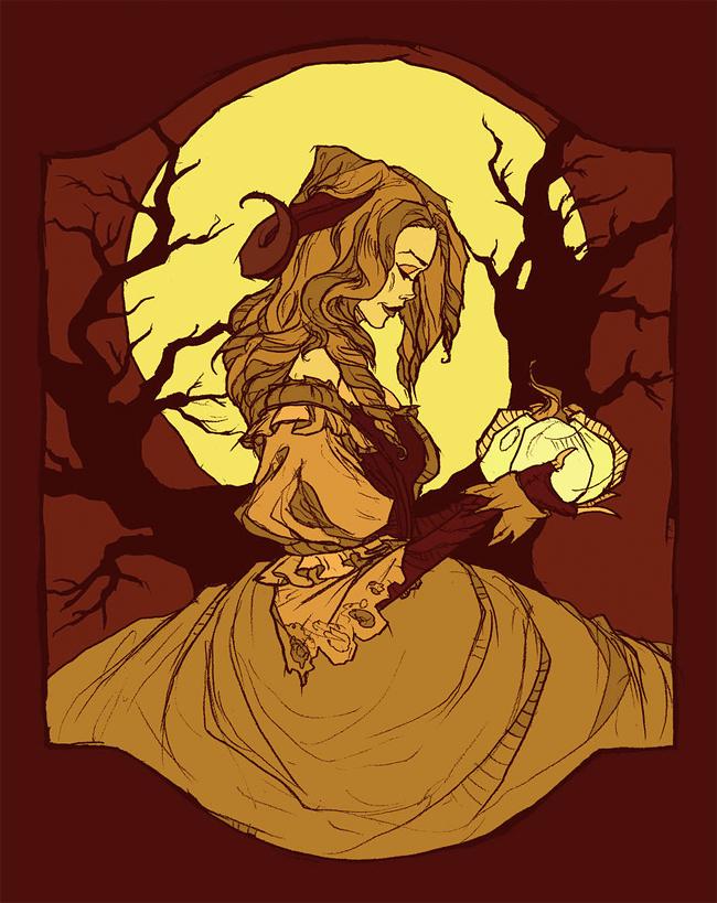 Abigail Larson - Harvest Moon