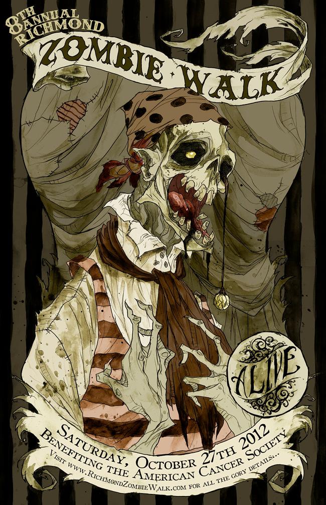 Abigail Larson - Zombie Walk 2012