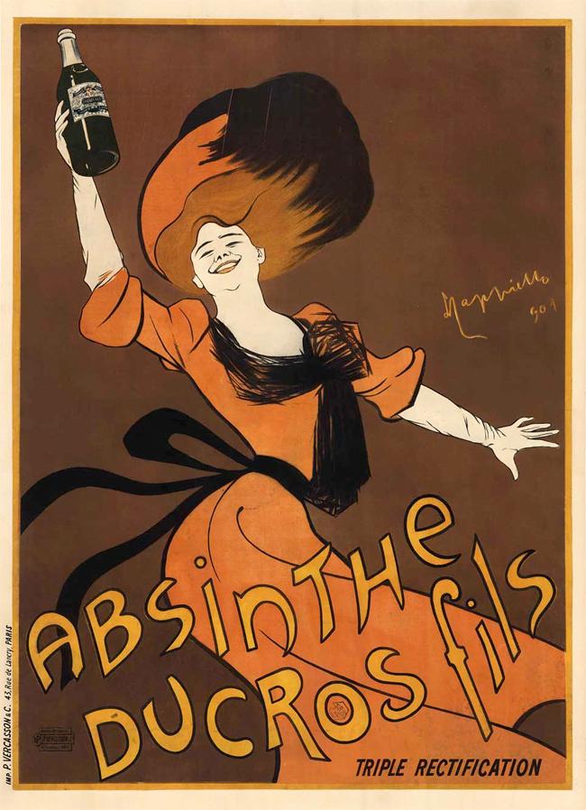 Absinthe Poster - Alphonse Mucha