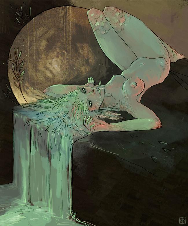 Absinthe Poster - Aurelie Neyret