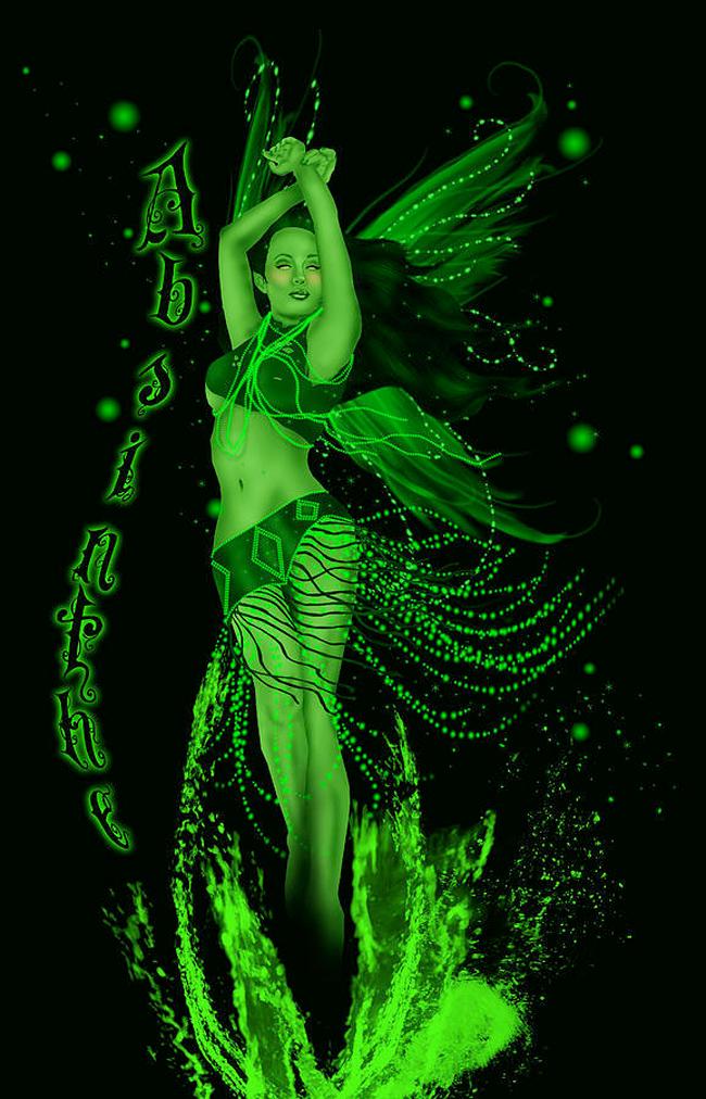 Absinthe Poster - Ava VonGoth