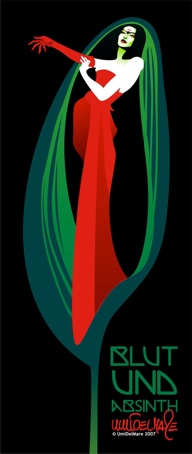 Absinthe Poster - Humbert D. Parsleys