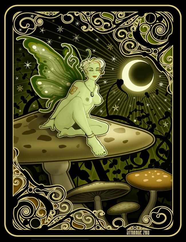 Absinthe Poster - J Strange