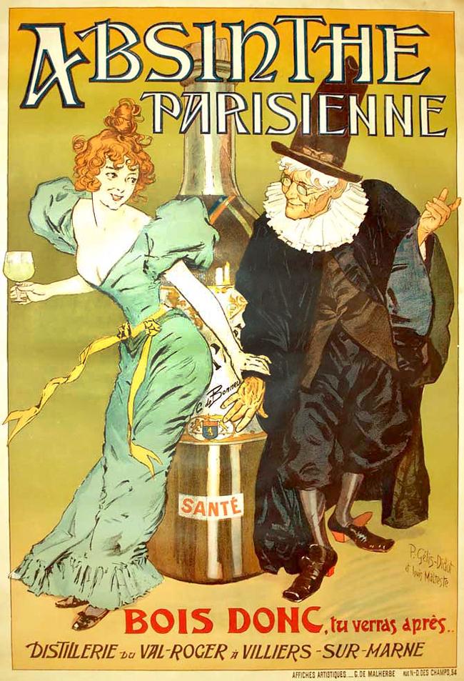 Absinthe Poster - Louis Malteste