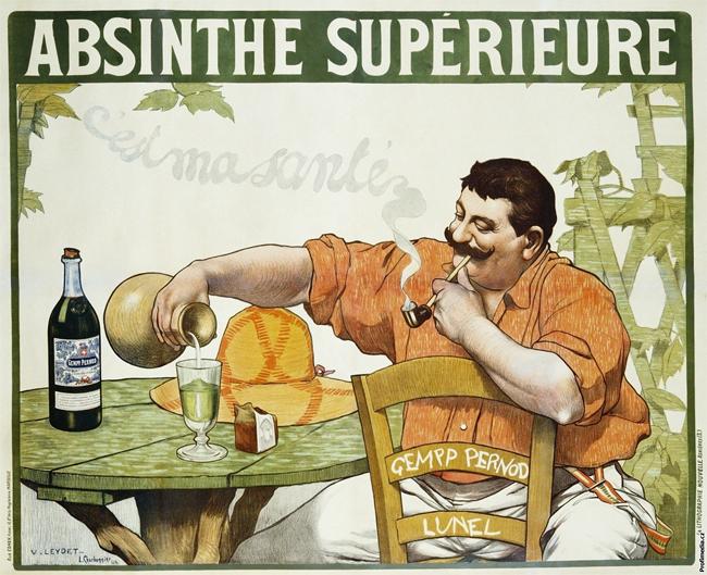 Absinthe Poster - Victor Leydet