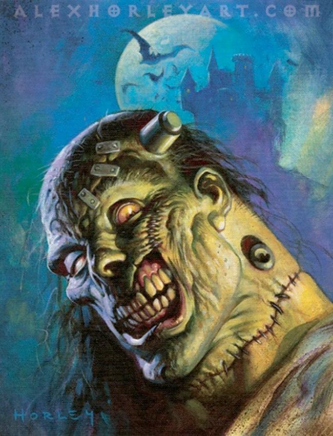 Alex Horley - Frankenstein