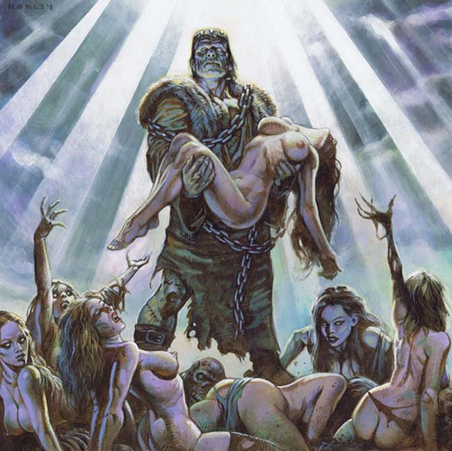 Alex Horley - Jesus Frankenstein