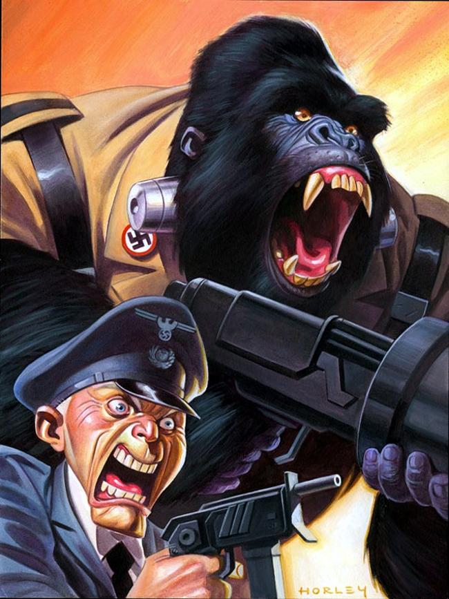 Alex Horley - Nazi Gorilla