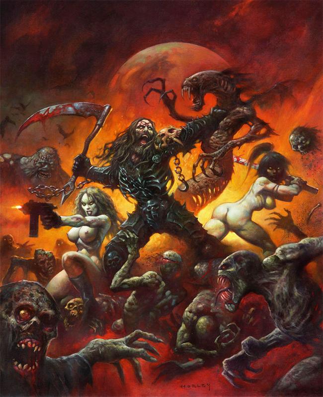 Alex Horley - Planet Zombie