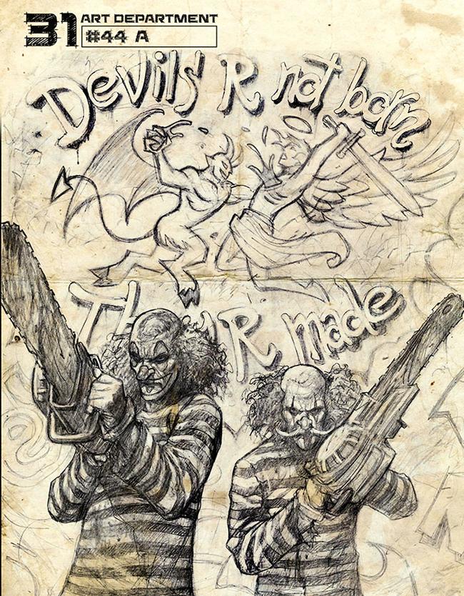 Alex Horley - Rob Zombie's 31 Concept Art