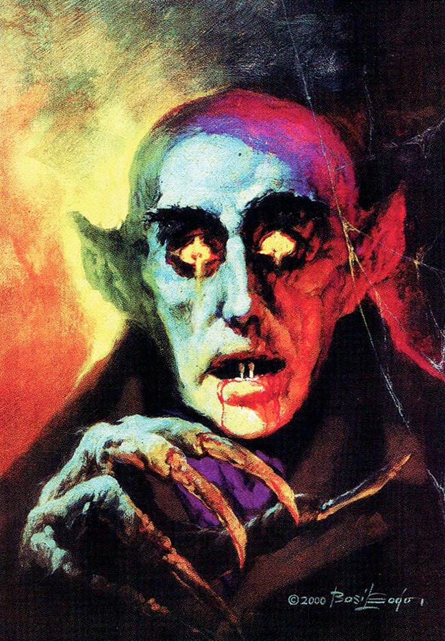 Basil Gogos - Nosferatu / Count Orlok