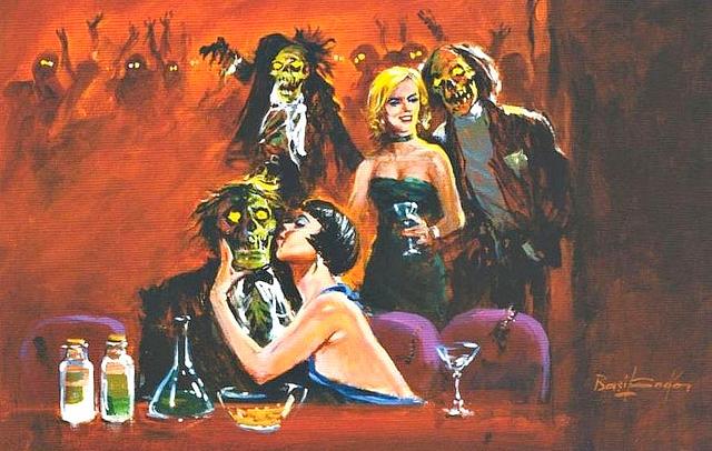 Basil Gogos - Zombie Club
