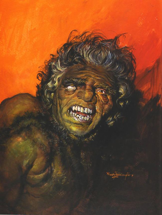 Basil Gogos - Quasimodo The Hunchback of Notre Dame