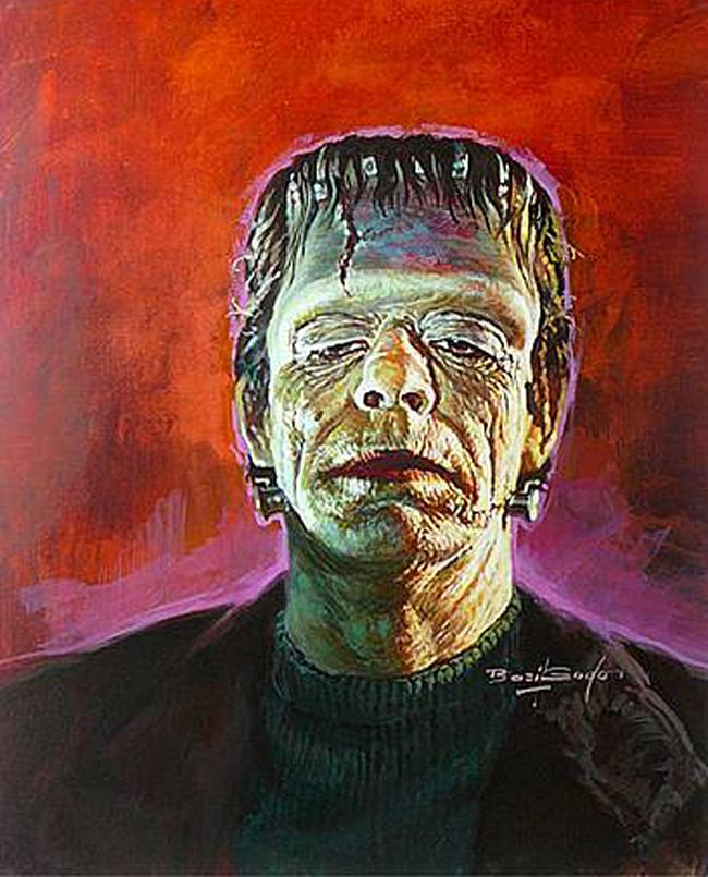 Basil Gogos - Frankenstein