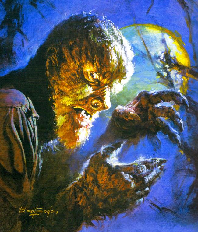 Basil Gogos - Wolf Man
