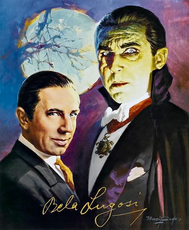 Basil Gogos - Bela Lugosi