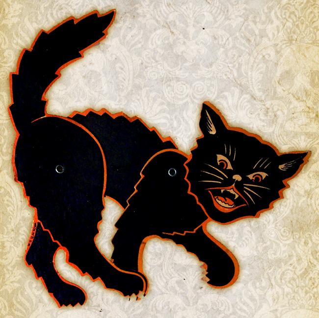 Beistle - Halloween Cat Die Cut