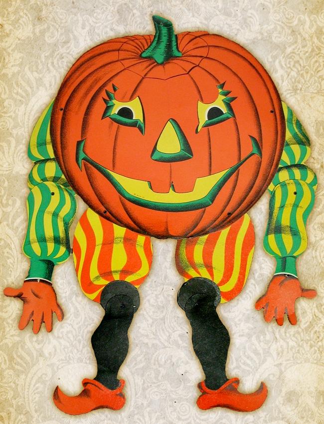 Beistle - Poseable Jack O Lantern