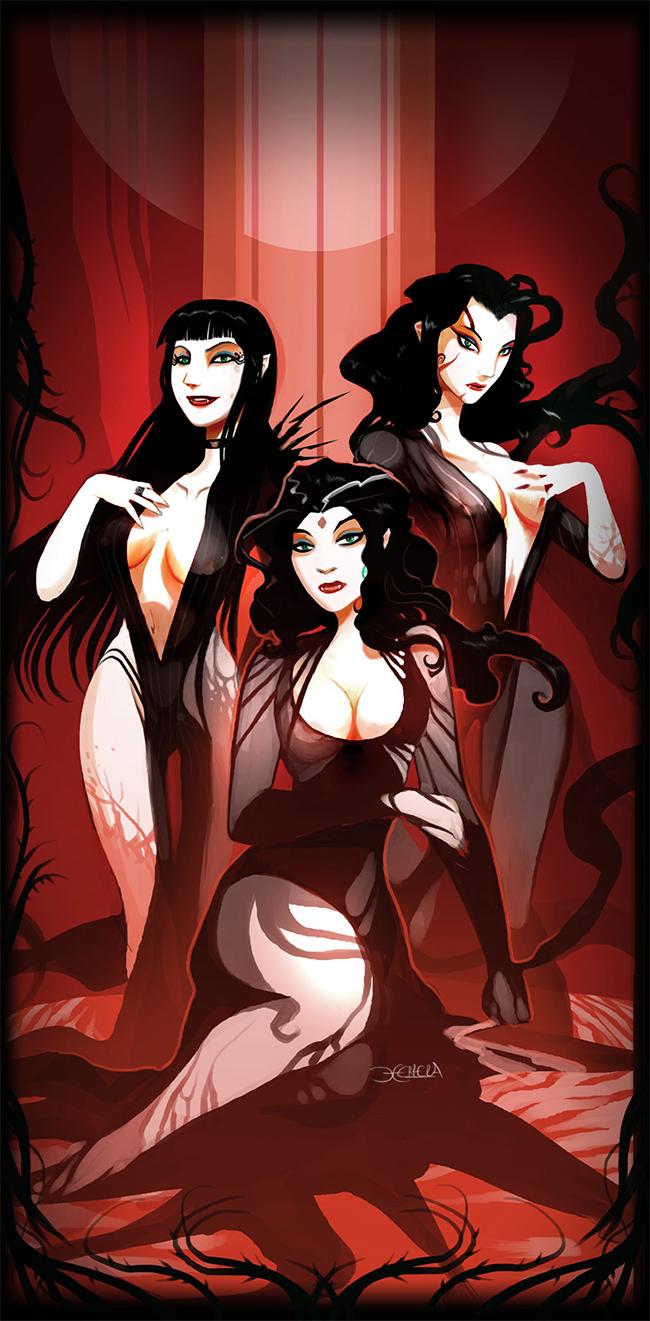 Brides of Dracula - Mauricio Herrera