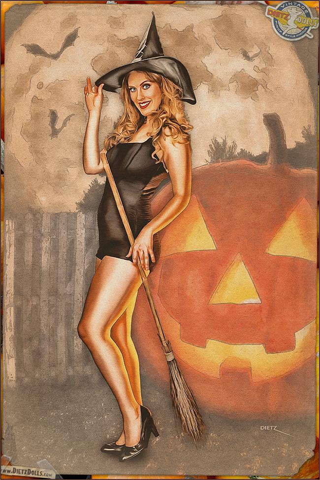 Britt Dietz - Midnight Witch