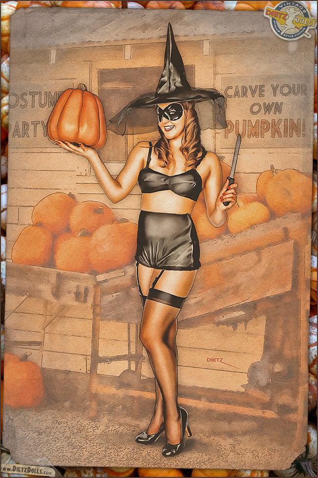 Britt Dietz - Pumpkin Carving
