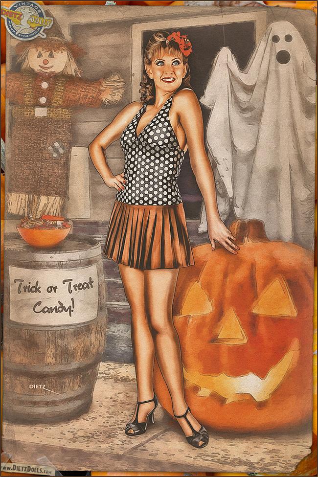 Britt Dietz - Ready for Halloween