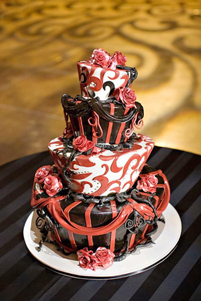 Halloween Cake - Cake Coquette