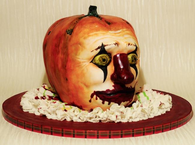 Halloween Cake - Cake Design Nibblies