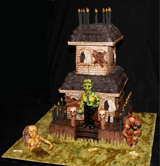 Halloween Cake - Cakes We Bake