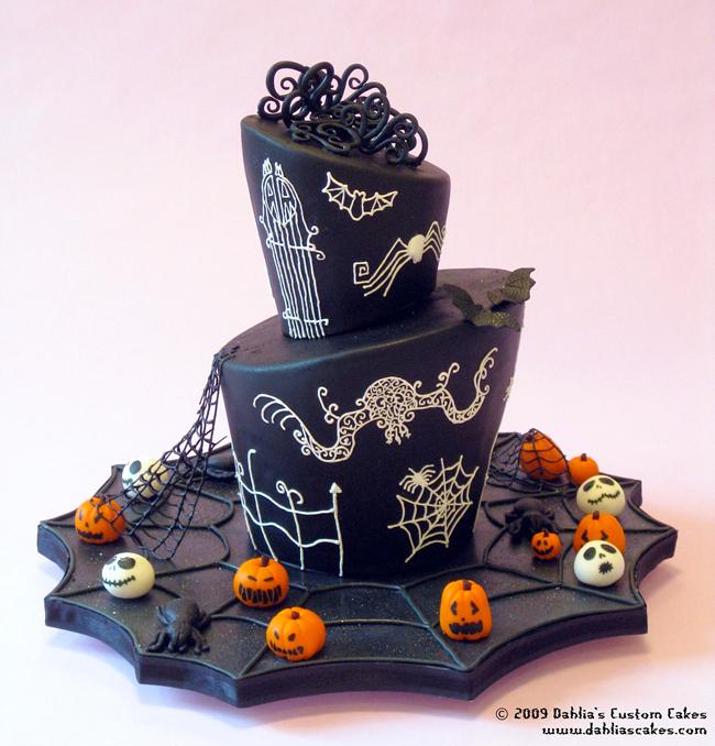 Halloween Cake - Dahlia's Cakes
