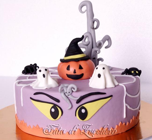 Halloween Cake - Fata Di Zucchero