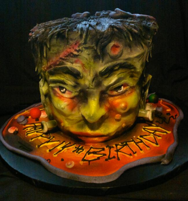 Halloween Cake - Giggy's Cakes