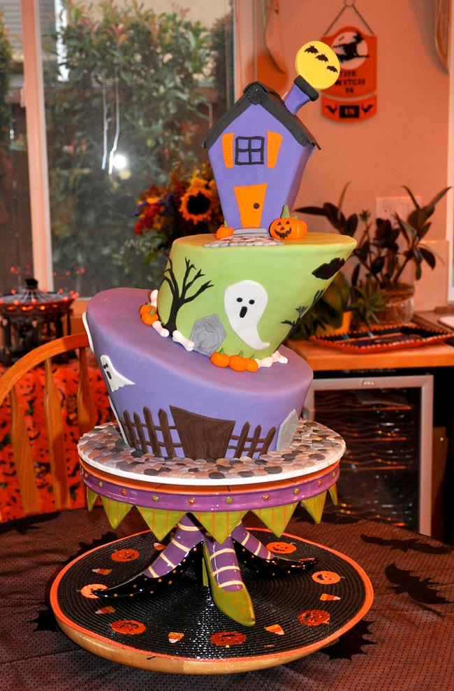 Halloween Cake - Jenny Wenny Cakes