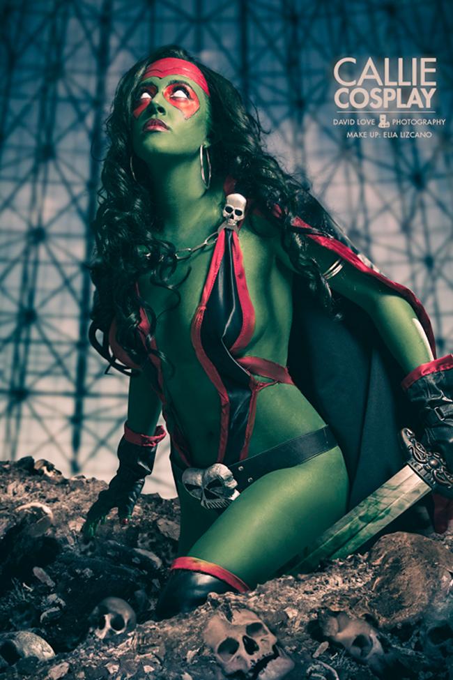 Callie Cosplay - Gamora