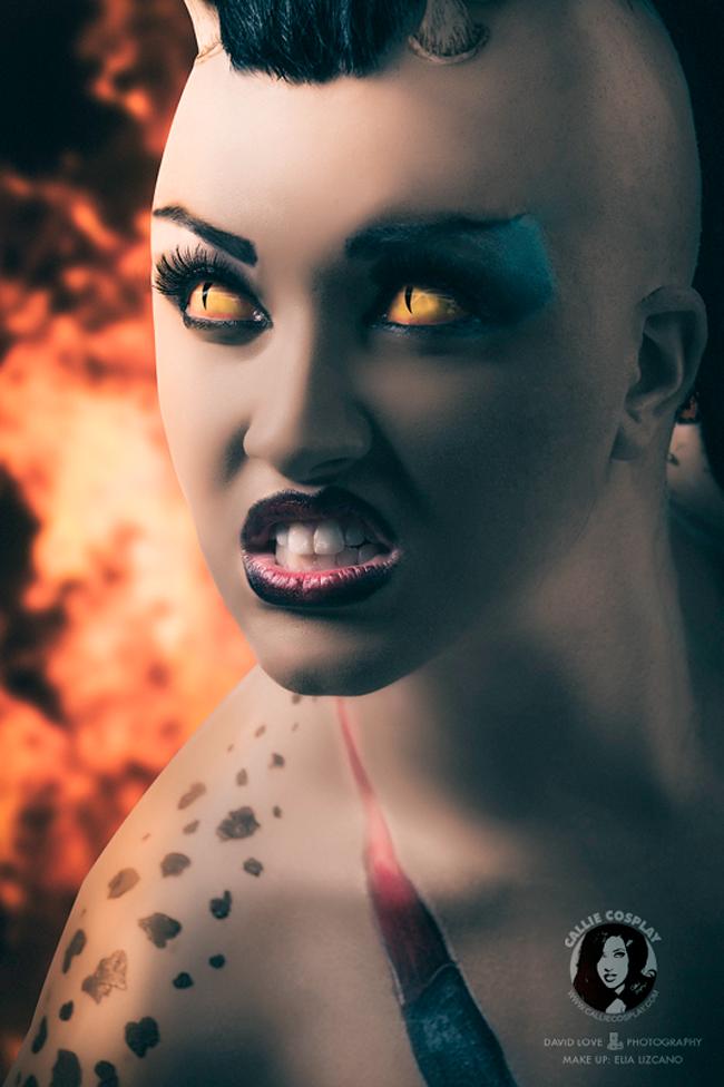 Callie Cosplay - Mortal Kombat: Sheeva