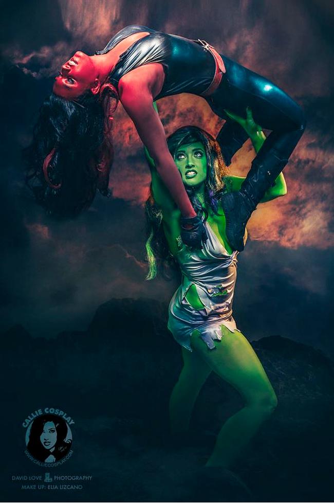 Callie Cosplay - She-Hulk