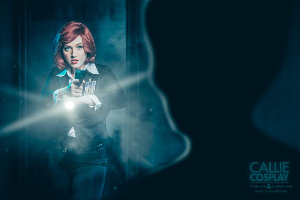 Callie Cosplay - X-Files: Dana Skully
