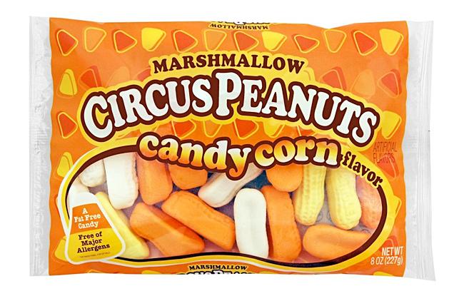 Candy Corn Circus Peanuts