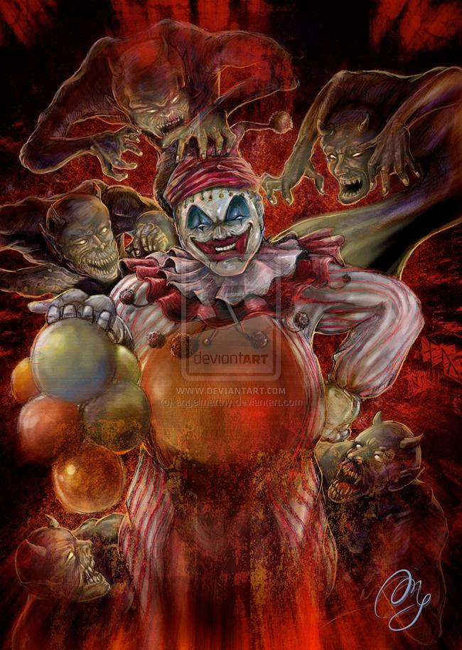 Clown - Angelmarthy