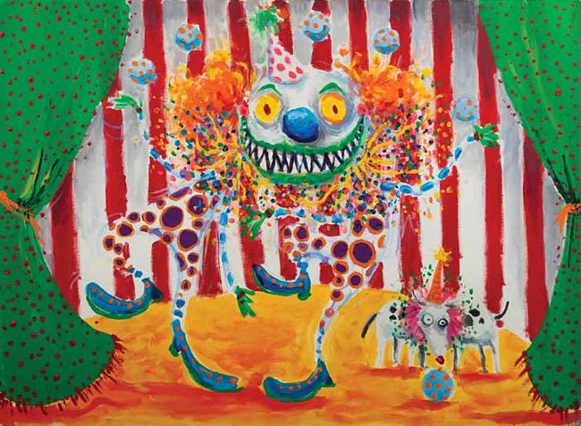 Clown - Tim Burton