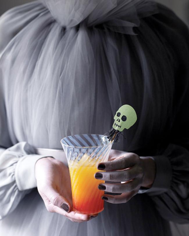 Halloween Cocktail - Halloween Sunset