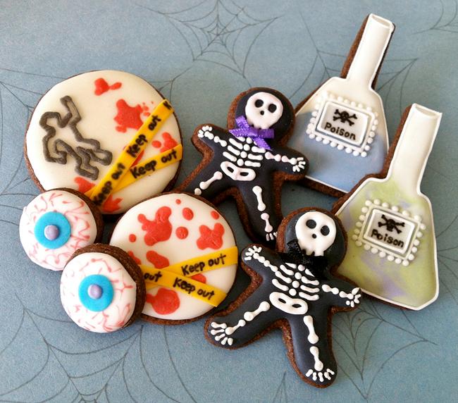 Halloween Cookies - C Bonbon