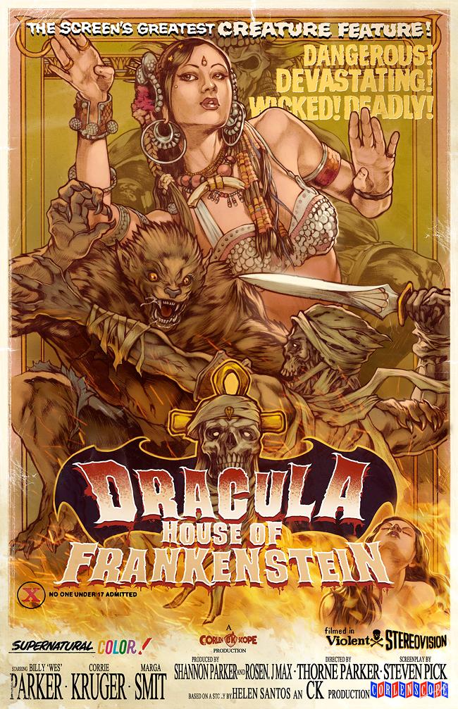 Corlen Kruger - Dracula's House of Frankenstein