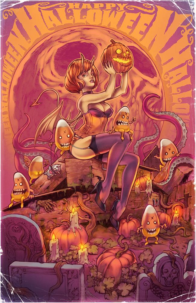 Corlen Kruger - Happy Halloween V2