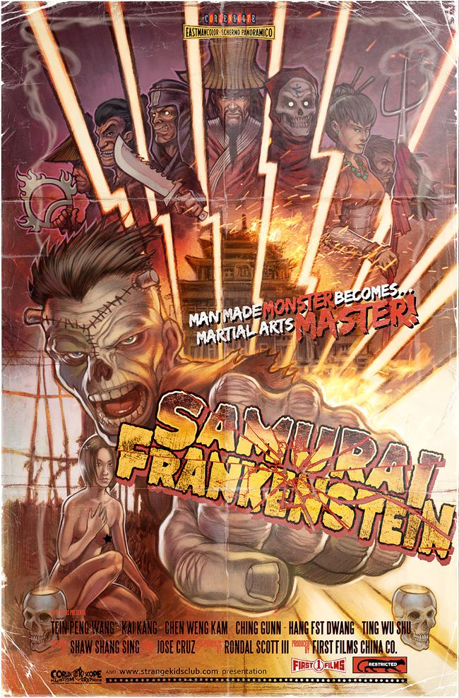 Corlen Kruger - Samurai Frankenstein