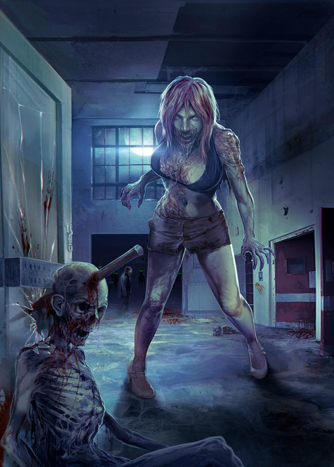 Corlen Kruger - Zombie 03