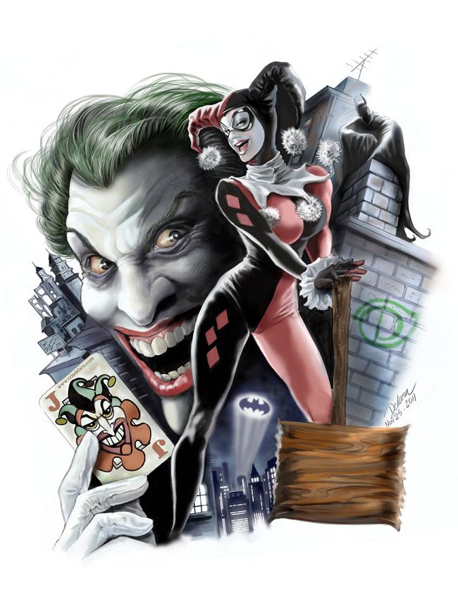 Cris Delara - Harley & Joker